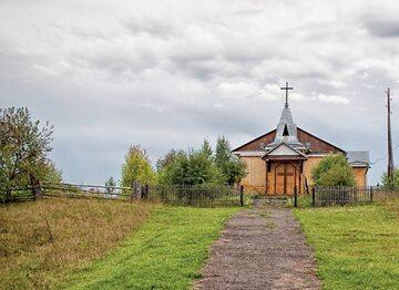 Kościół we wsi Białymstoku