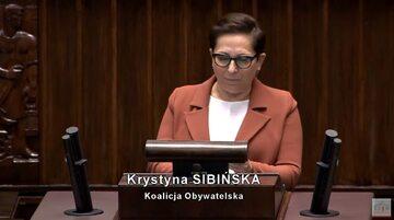 Krystyna Sibińska, KO