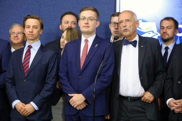 Krzysztof Bosak, Robert Winnicki, Janusz Korwin-Mikke,