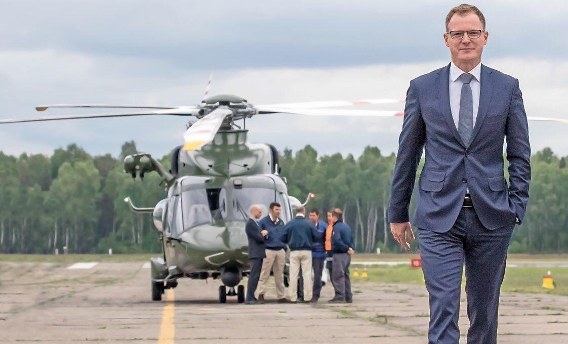 Krzysztof Krystowski, wiceprezes Leonardo Helicopters