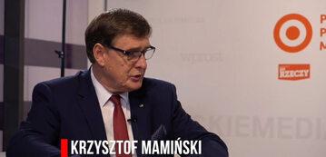 Krzysztof Mamiński, prezes zarządu spółki PKP S.A