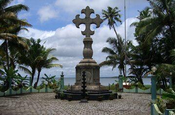 Krzyż św. Tomasz – symbol działalności Apostoła w Indiach