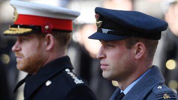 Książę Harry (L) książę William (P). Zdjęcie ilustracyjne