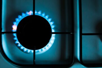 Kuchenka gazowa, zdjęcie ilustracyjne