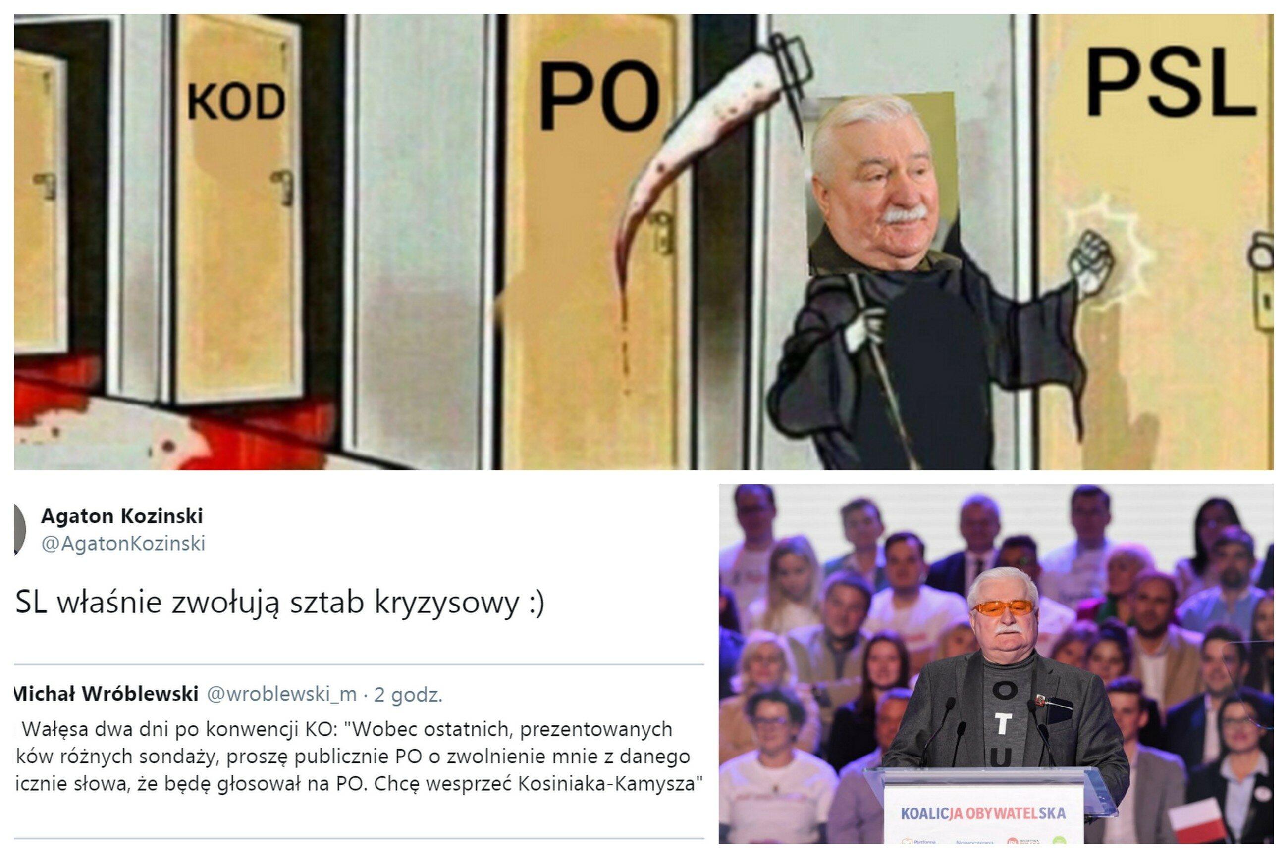Lech Wałęsa poparł PSL