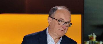 Lider SLD Włodzimierz Czarzasty w studiu Polsat News