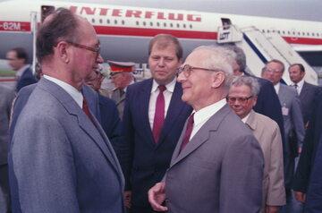 Lipiec 1988 r. Wojciech Jaruzelski i Erich Honecker