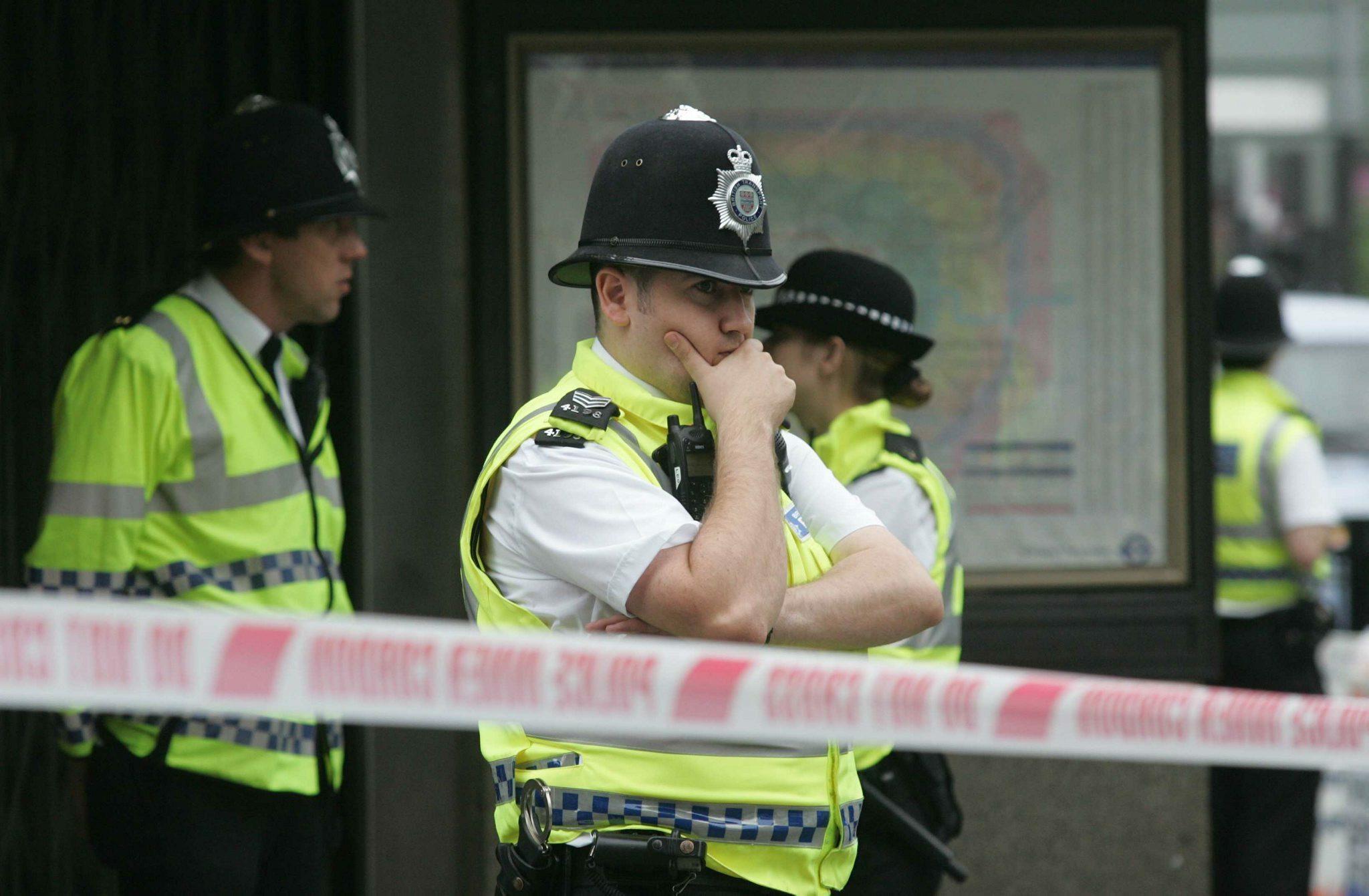 Londyńska policja