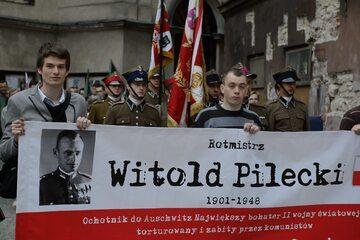 Lublin, 2013. Marsz upamiętniający rotmistrza Witolda Pileckiego