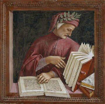 Luca Signorelli, Dante