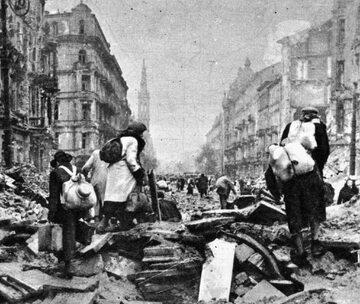 Ludność cywilna podczas Powstania Warszawskiego