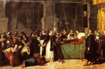 Luis Montero, Śmierć Atahualpy