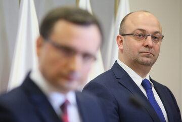 Łukasz Piebiak i Zbigniew Ziobro