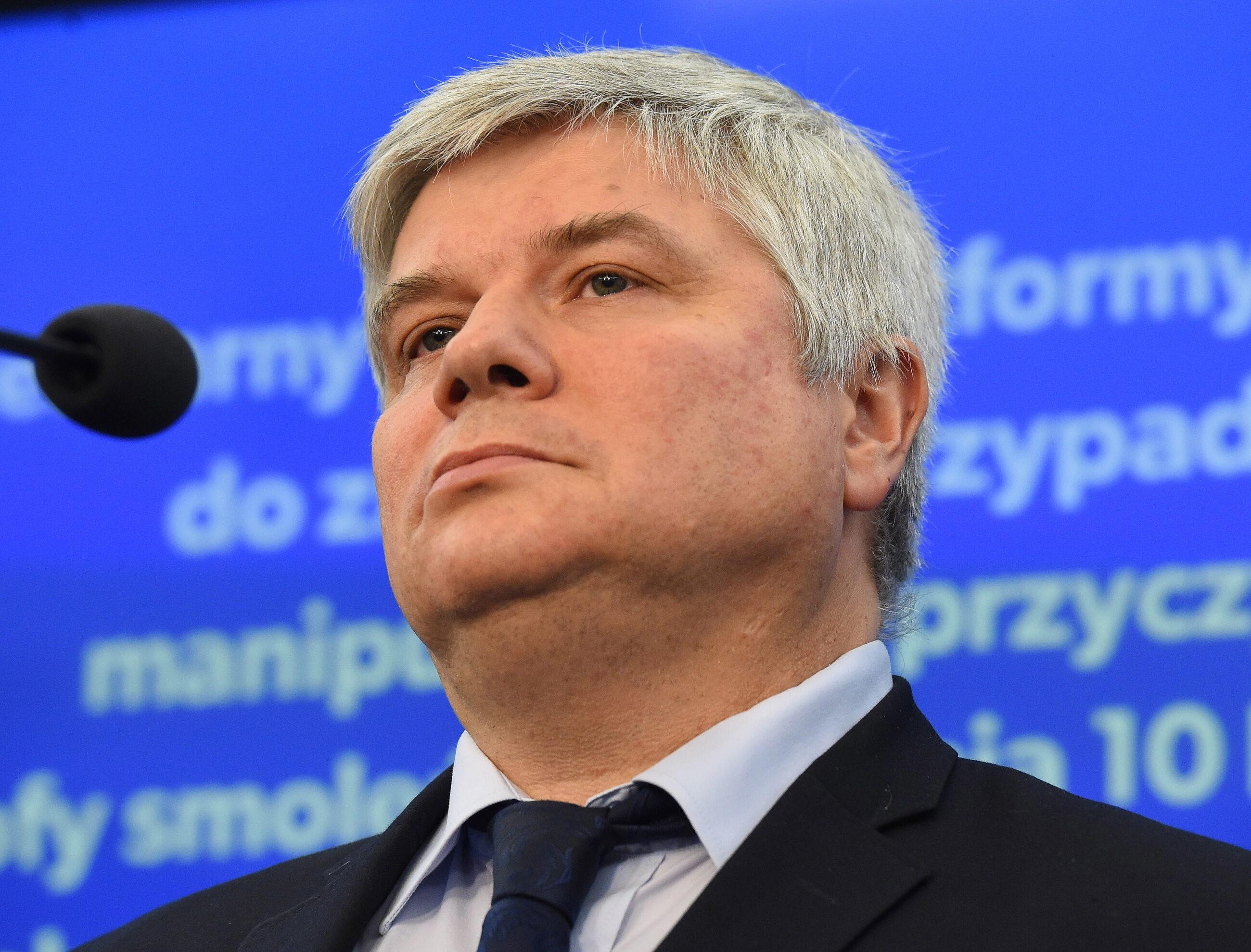 Maciej Lasek, były szef PKBWLLP