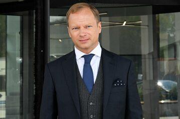 Maciej Stuhr na planie filmowym