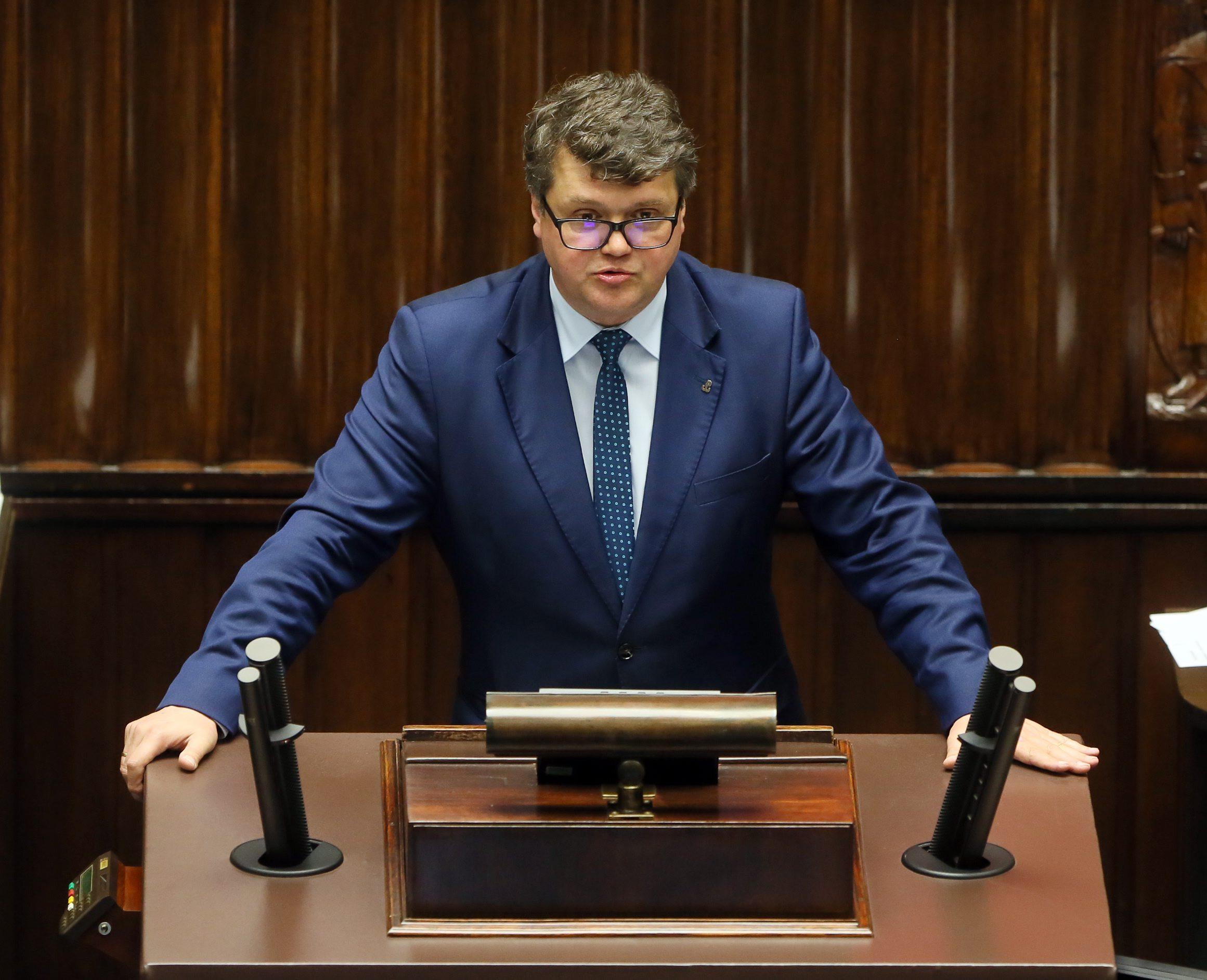 Maciej Wąsik w Sejmie
