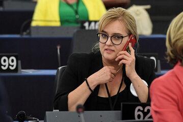 Magdalena Adamowicz w Parlamencie Europejskim