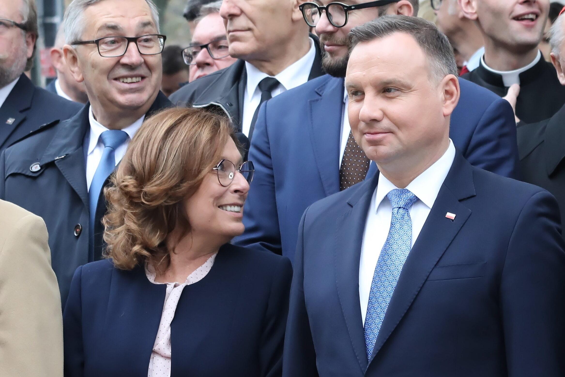 Małgorzata Kidawa-Błońska, Andrzej Duda