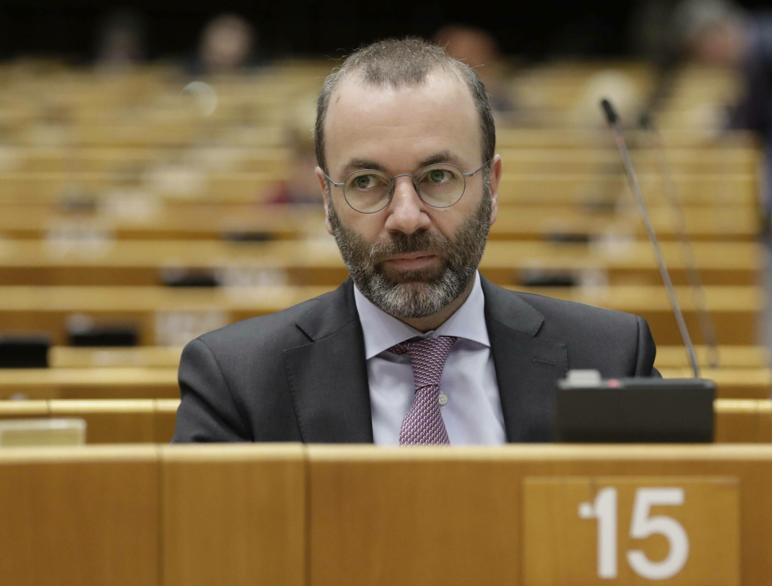Manfred Weber, szef frakcji EPL w Parlamencie Europejskim