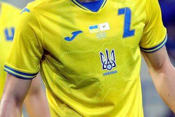 Mapa Ukrainy na koszulkach reprezentacji na Mistrzostwa Europy 2020 w piłce nożnej