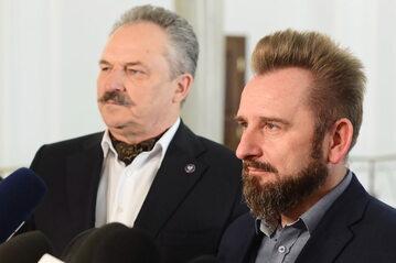 Marek Jakubiak i Piotr Liroy-Marzec