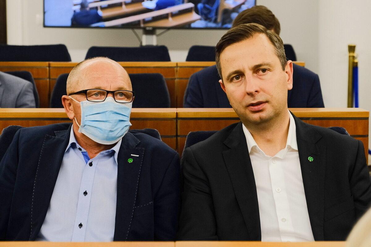 Marek Sawicki i Władysław Kosiniak-Kamysz