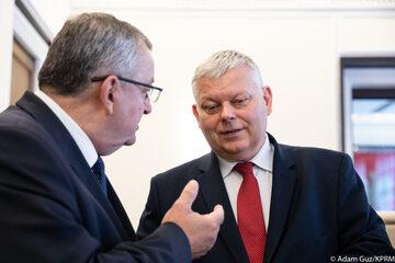 Marek Suski na posiedzeniu rządu