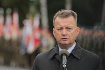 Mariusz Błaszczak, minister obrony narodowej
