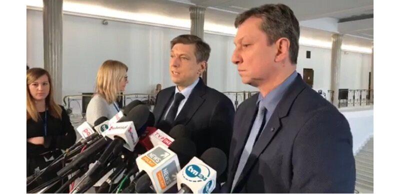 Mariusz Witczak i Andrzej Halicki