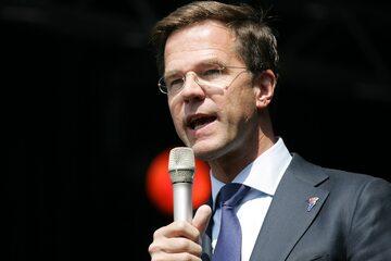Mark Rutte, premier Holandii