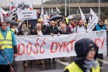 Marsz KOD w Gdańsku