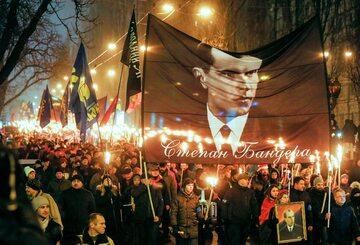 Marsz na ulicach Kijowa