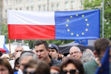 """Marsz opozycji pod hasłem """"Polska w Europie"""""""