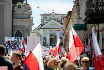 Marsz Polaków w Wilnie