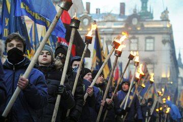 Marsz ukraińskich nacjonalistów