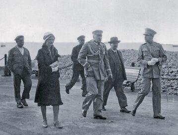 Marszałek Józef Piłsudski i dr Eugenia Lewicka na Maderze