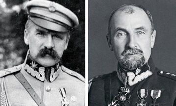 Marszałek Józef Piłsudski i gen. Tadeusz Rozwadowski. Fot. NAC