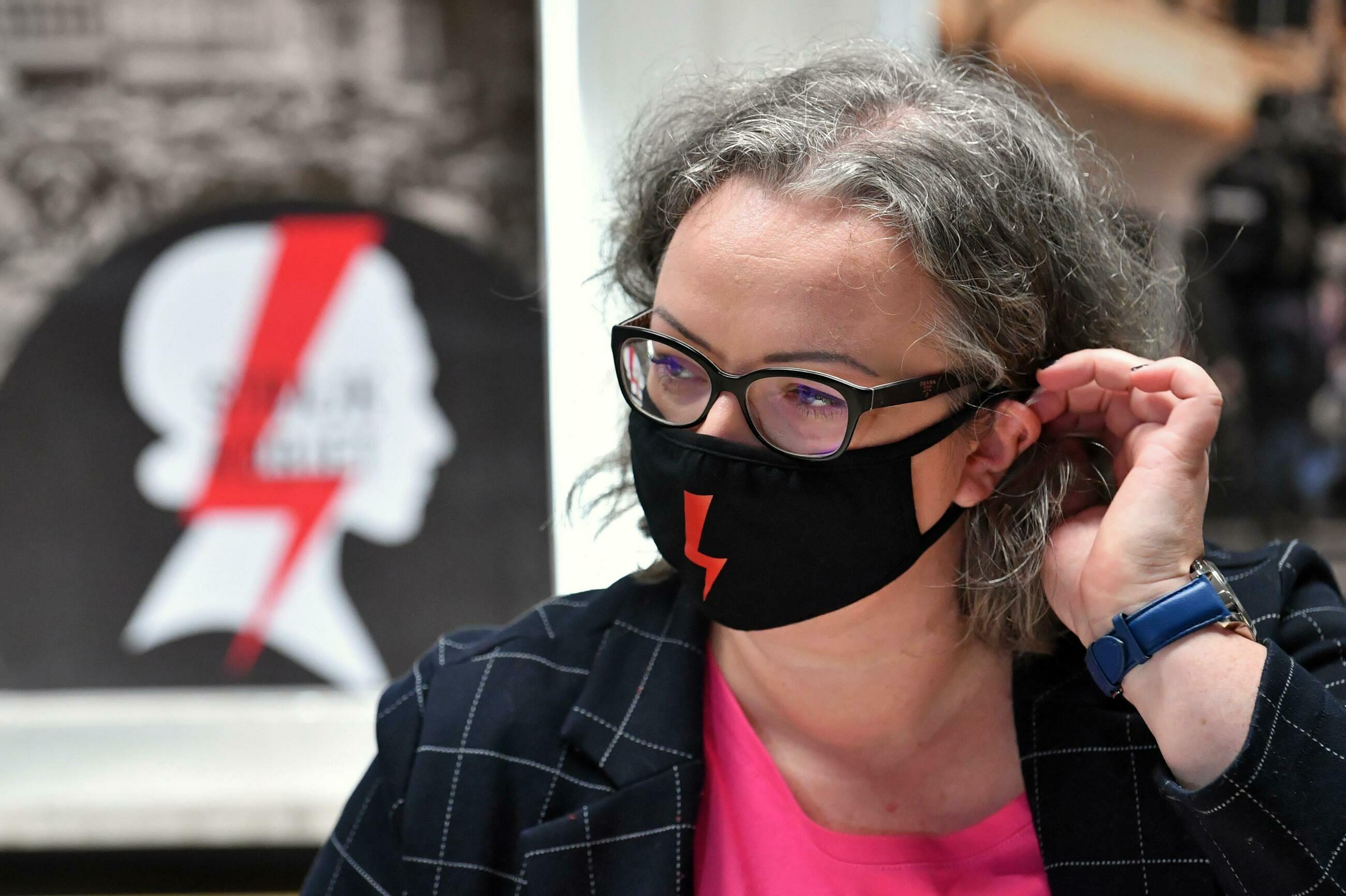 Marta Lempart, liderka Ogólnopolskiego Strajku Kobiet