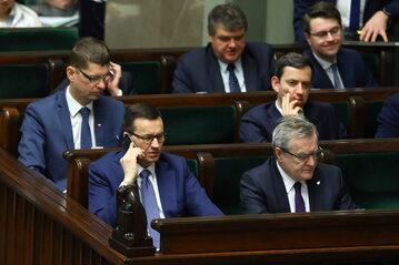 Mateusz Morawiecki, Piotr Gliński, Dariusz Piontkowski, Marcin Ociepa