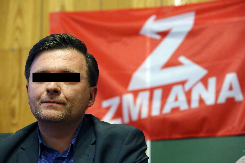 Mateusz P., lider partii Zmiana