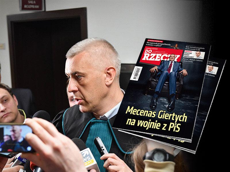 Mecenas Giertych na wojnie z PiS