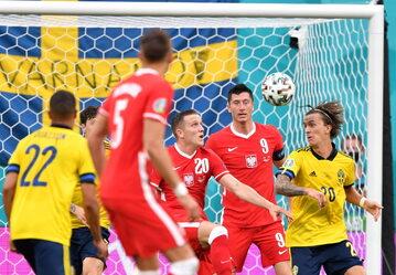 Mecz Polska–Szwecja podczas Euro 2020