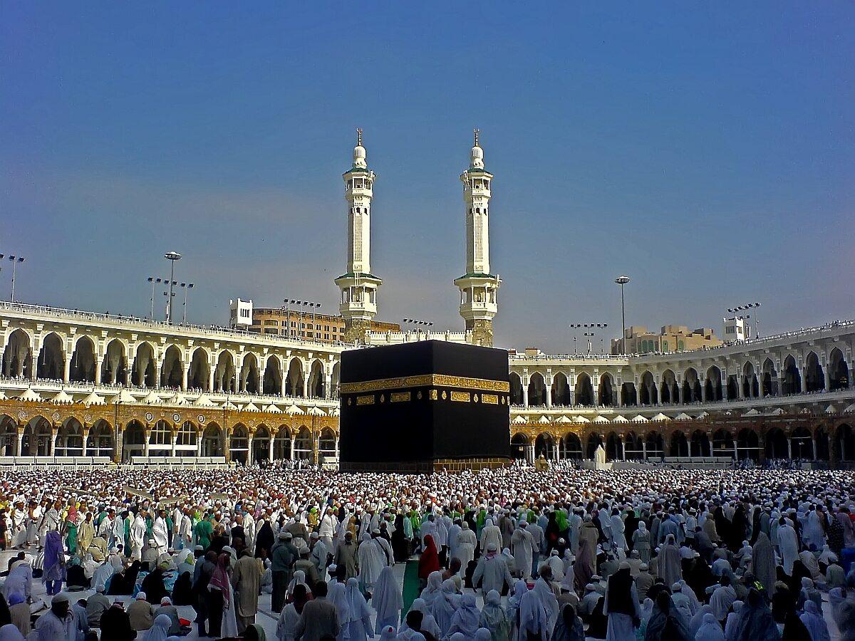 Meczet w Mekce