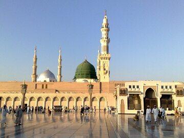Medyna, Meczet Proroka. Zdjęcie współczesne