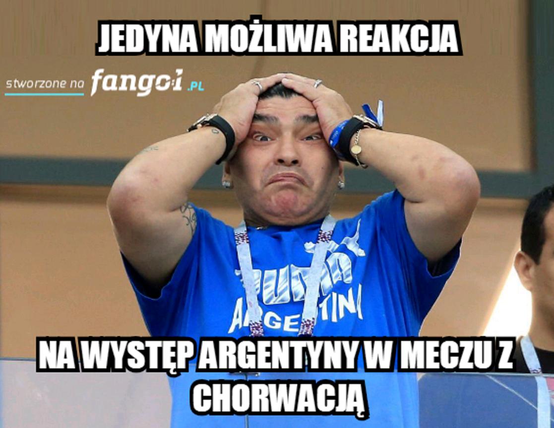 Memy po meczu Argentyna-Chorwacja