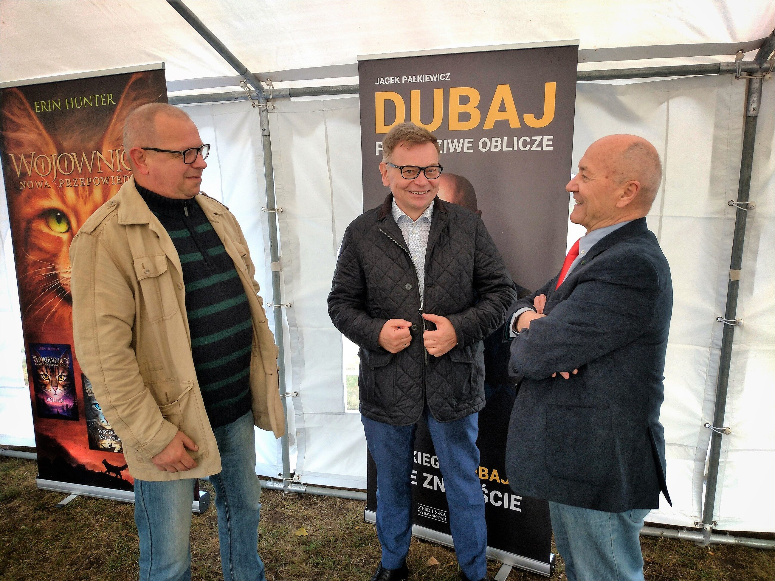 Michał Kruszona, Tadeusz Zysk, Jacek Pałkiewicz