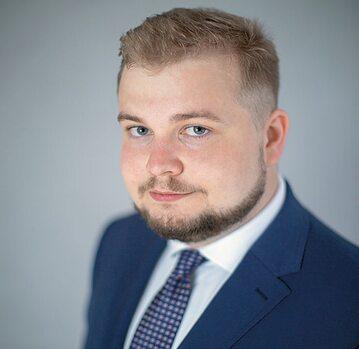 Michał Moskal, szef Forum Młodych PiS