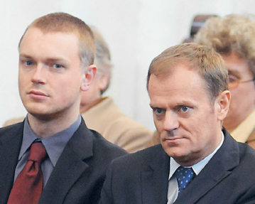 Michał Tusk i Donald Tusk