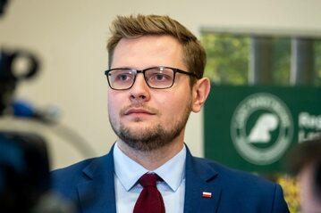 Michał Woś, wiceminister sprawiedliwości
