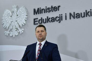 Minister edukacji i nauki prof. Przemysław Czarnek